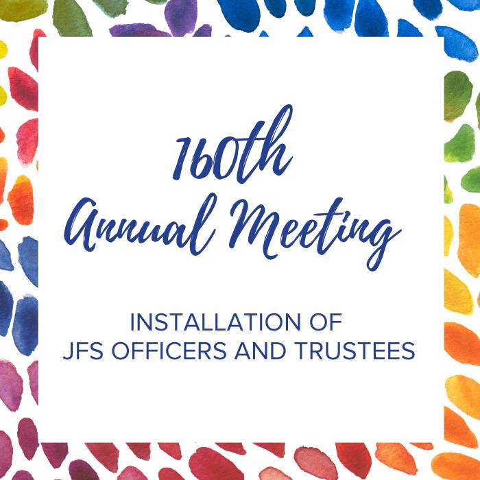 160th Annual Meeting